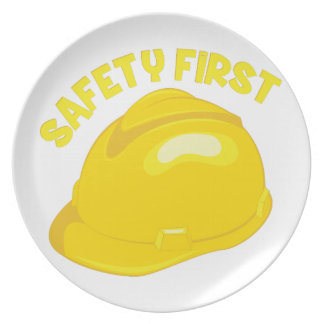 Safety First Plate