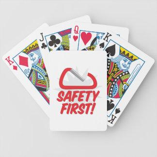 Safety First Poker Deck