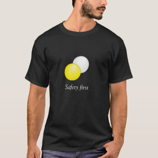 Safety first snooker T-Shirt