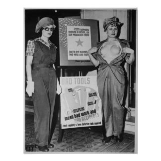 Safety Garb for Women Workers Poster