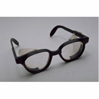 Safety glasses cut outs