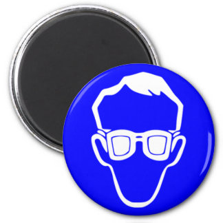 Safety goggles magnet