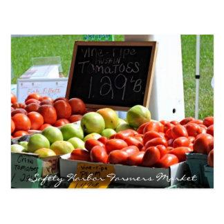 Safety Harbor Farmers Market Postcard