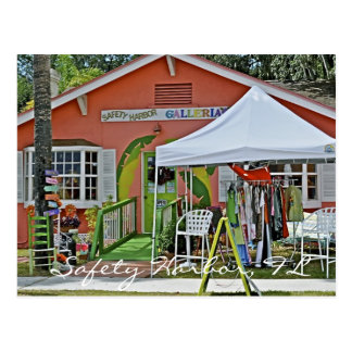 Safety Harbor Shop Postcard