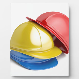 Safety helmets plaque