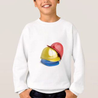 Safety helmets sweatshirt
