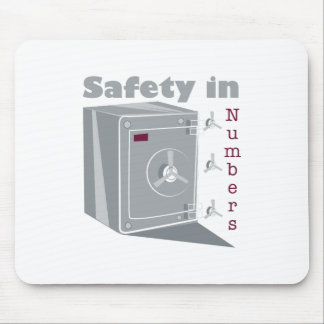 Safety In Numbers Mouse Pad