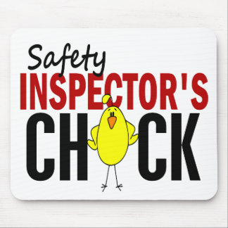 Safety Inspector s Chick Mouse Pads