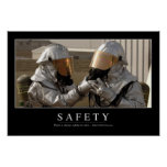 Safety: Inspirational Quote Posters