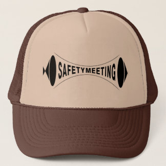 Safety Meeting Logo Trucker Hat