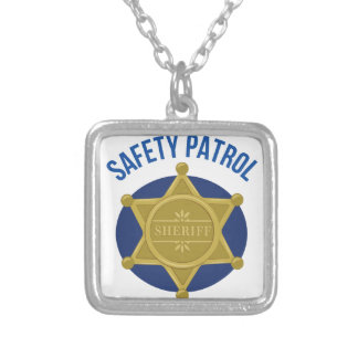 Safety Patrol Silver Plated Necklace