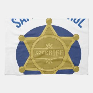 Safety Patrol Tea Towel