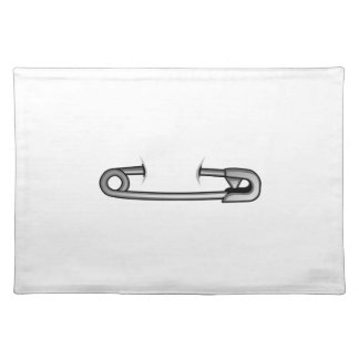 safety pin 1 placemat