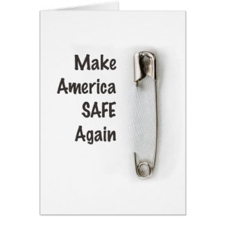 Safety Pin Card