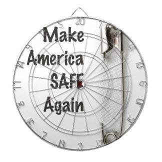 Safety Pin Dartboard