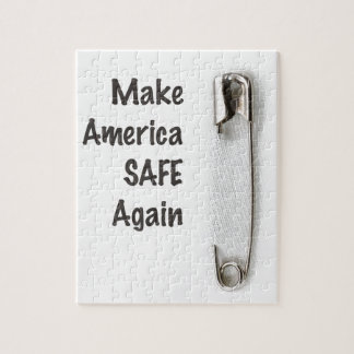 Safety Pin Jigsaw Puzzle