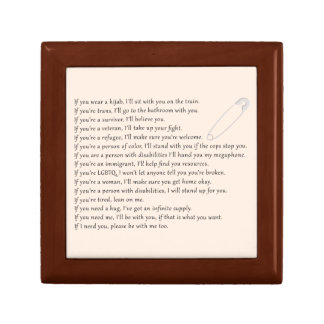 Safety Pledge Gift Box