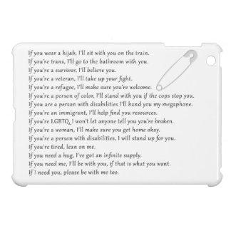 Safety Pledge iPad Mini Cases