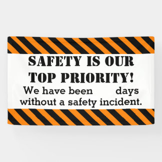 Safety Sign Days without Incident/Accident