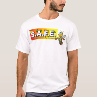 Safety Team T-shirts front and back design