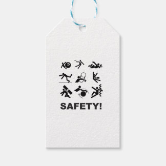 safety yeah gift tags