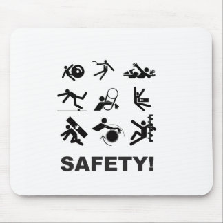 safety yeah mouse pad