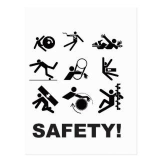 safety yeah postcard