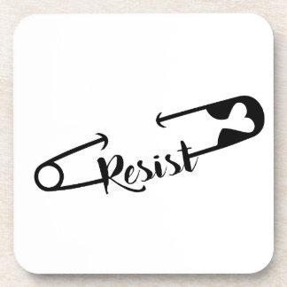 SafetyPin Resist Coaster