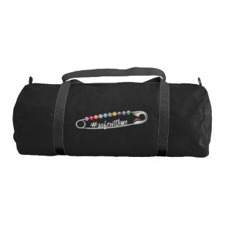#SafeWithMe Dark Duffel Bag