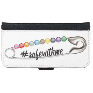 #SafeWithMe iPhone & Samsung Wallet Case