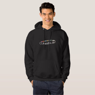 #SafeWithMe Men's Basic Dark Hoodie