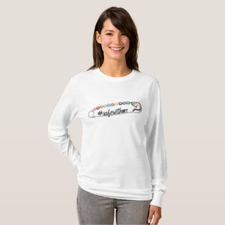 #SafeWithMe Women's Basic Long Sleeve T-Shirt