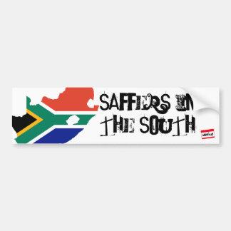 Saffers in The South Bumper Sticker