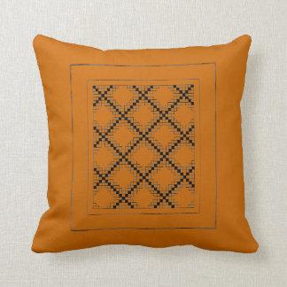 Saffron and Crisscross Mojo Pillow
