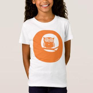 Saffron Craig orange Owl T-shirt