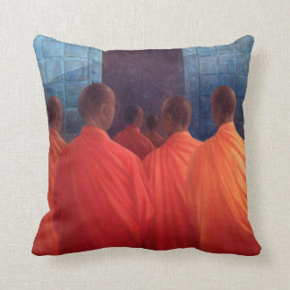 Saffron Monks Cushion