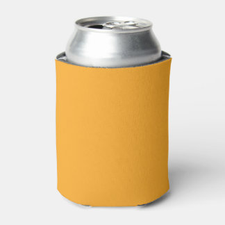 Saffron Solid Colour Can Cooler