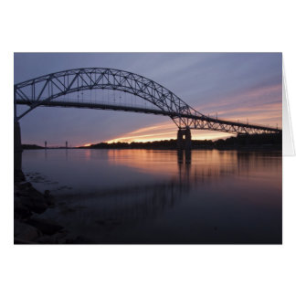 Sagamor Bridge over Cape Cod canal, Card