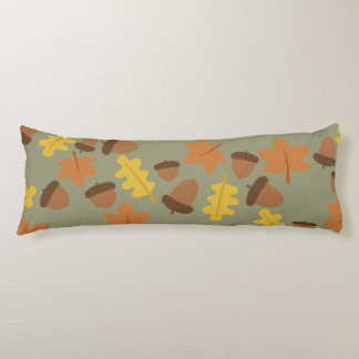 Sage Acorns Body Cushion