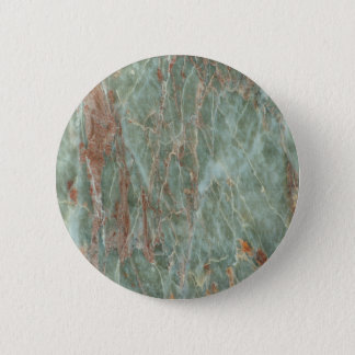 Sage and Rust Marble 6 Cm Round Badge