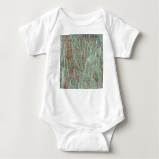 Sage and Rust Marble Baby Bodysuit