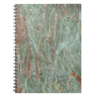 Sage and Rust Marble Notebooks