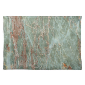 Sage and Rust Marble Placemat
