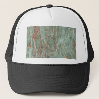 Sage and Rust Marble Trucker Hat