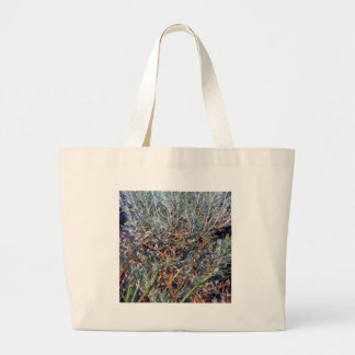 Sage and Summer Grass Large Tote Bag