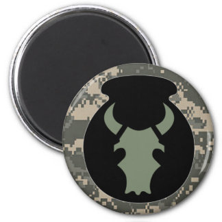 Sage Bull ACU-look subdued w/camo circle magnet