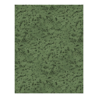 Sage Green Cork Look Wood Grain Personalized Flyer