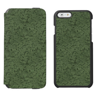 Sage Green Cork Look Wood Grain Incipio Watson™ iPhone 6 Wallet Case
