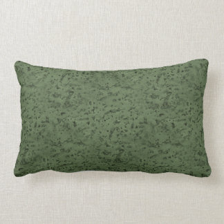 Sage Green Cork Look Wood Grain Lumbar Pillow