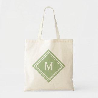 Sage Green Diamond Monogram